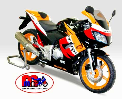 Carenagem da Repsol
