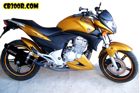 Cb300r, Escape e Spoiler