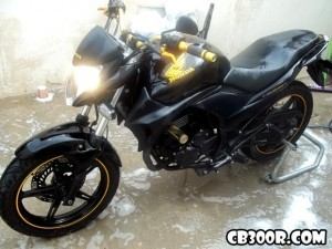 Cb300 com guidom off road