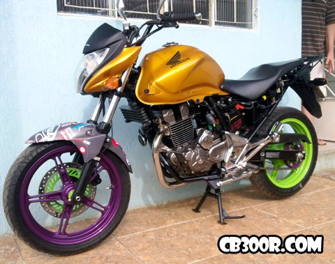 Cb300r Tuning do Dalvan
