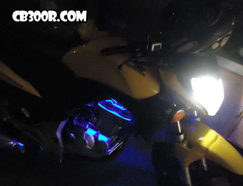 Cb300r Led Azul